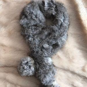 Accessories - Real rabbit 🐰 fur neck warmer scarf